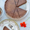 Bittersweet Chocolate Tart Over
