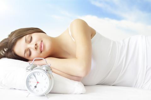 woman sleeping - Copy