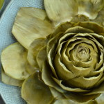 Steamed Artichokes with Creamy Vegan Dill Sauce