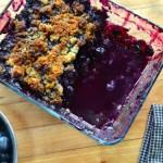 Paleo Blueberry Cobbler