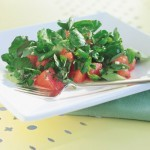 Alkalizing Watercress and Watermelon Salad