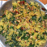 Spaghetti Squash with Kale