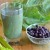Blueberry Coconut Green Smoothie