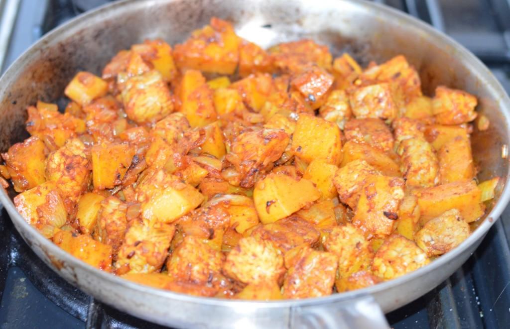 tempeh but in pan