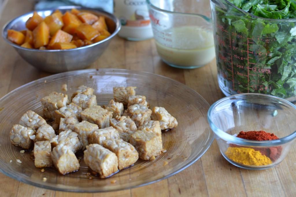 tempeh but ingredients