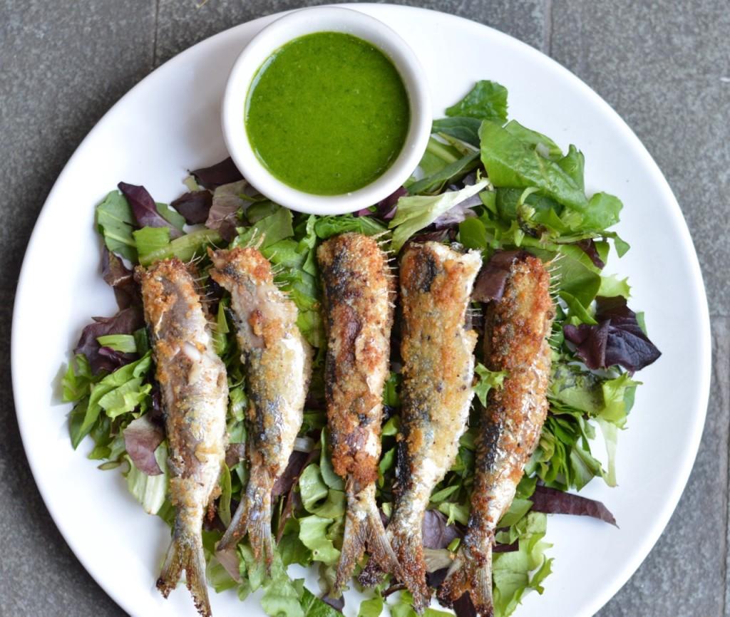 Sardine platter