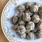 Chocolate Hemp Maca Energy Balls