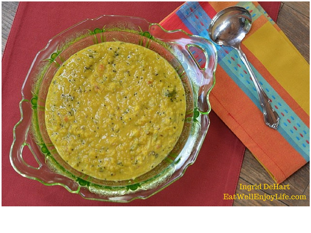 Sri Lankan Dhal with Coconut Milk