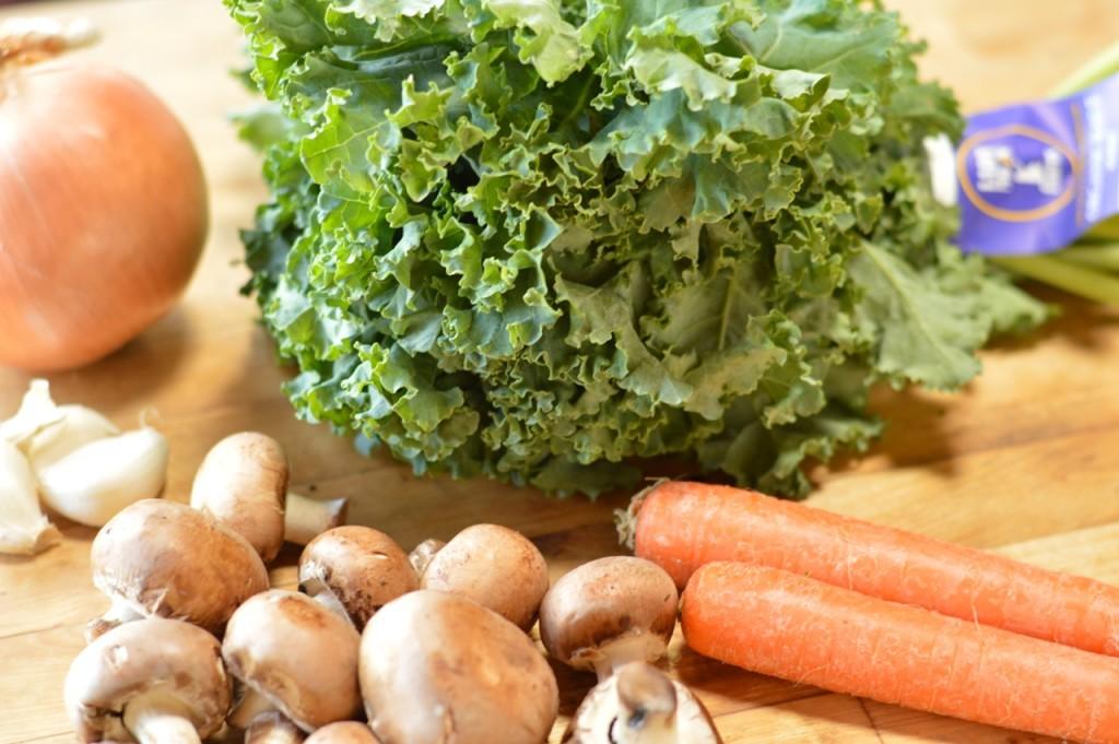 Kale Mush ingredieints