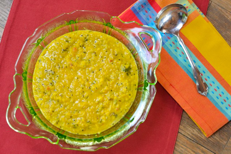 Sri Lankan Coconut Dhal Curry