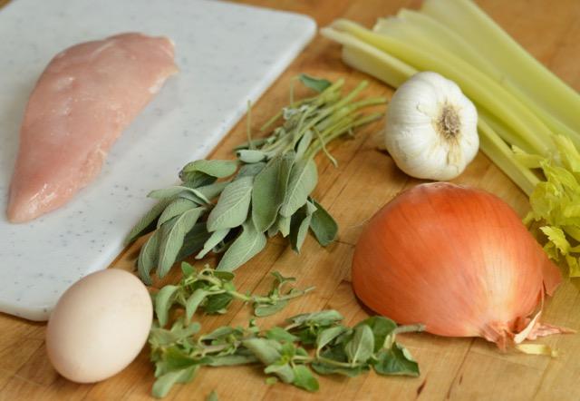 Herb Turkey Burger Ingredients