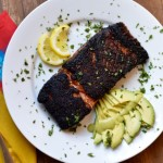 Paleo Blackened Salmon