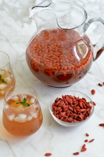 Goji Berry Lemonade Refreshing And Deeply Nourishing Summer Drink