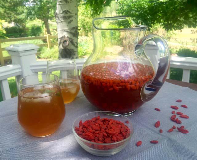 Goji Berry Lemonade Refreshing And Deeply Nourishing Summer Drink
