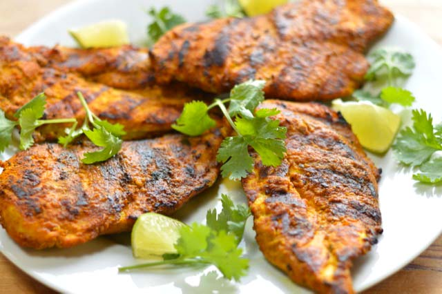 Grilled Chicken with Immunity Boosting Spices