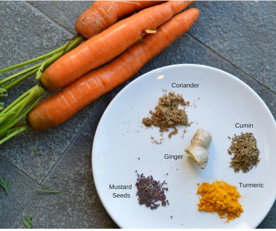 Healing Carrot Soup Spices L