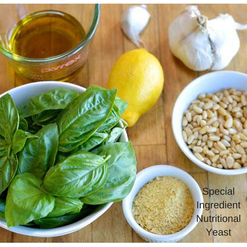Vegan Pesto Nutritional Yeast