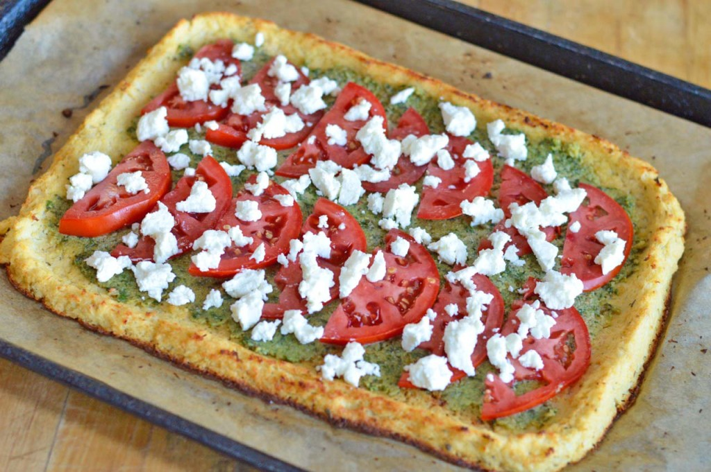 Cauliflower Crust Pizza Whole