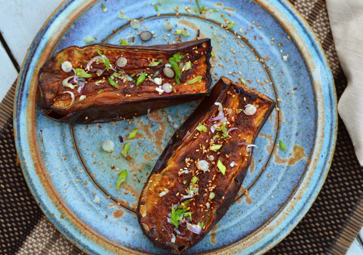 Grilled Miso Eggplant