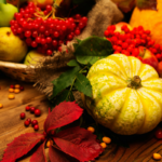 Thanksgiving Vegetables, Desserts and Gratitude Recipes