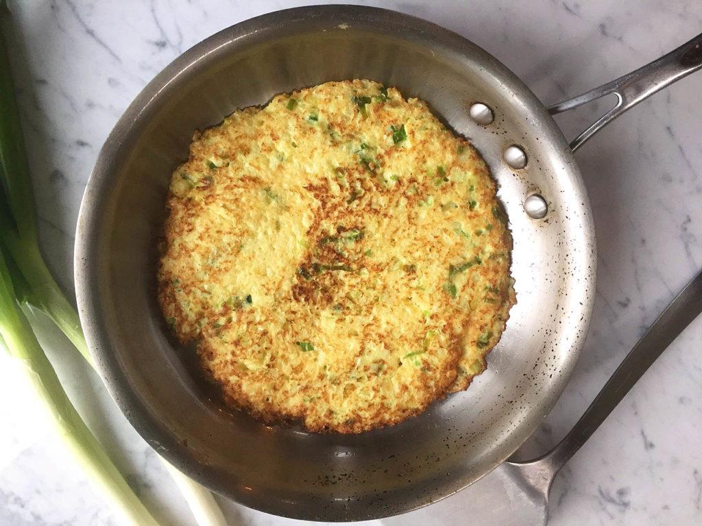Paleo Scallion Pancake