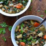 One-Pot Winter Vegetable Lentils