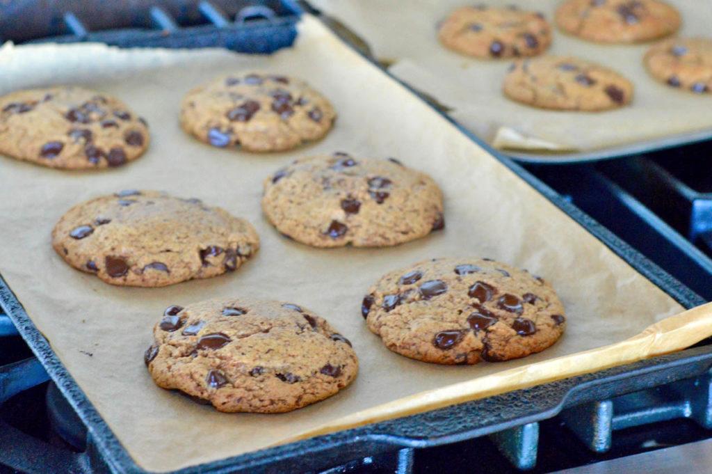 Paleo Choc Chip Cookies Pan