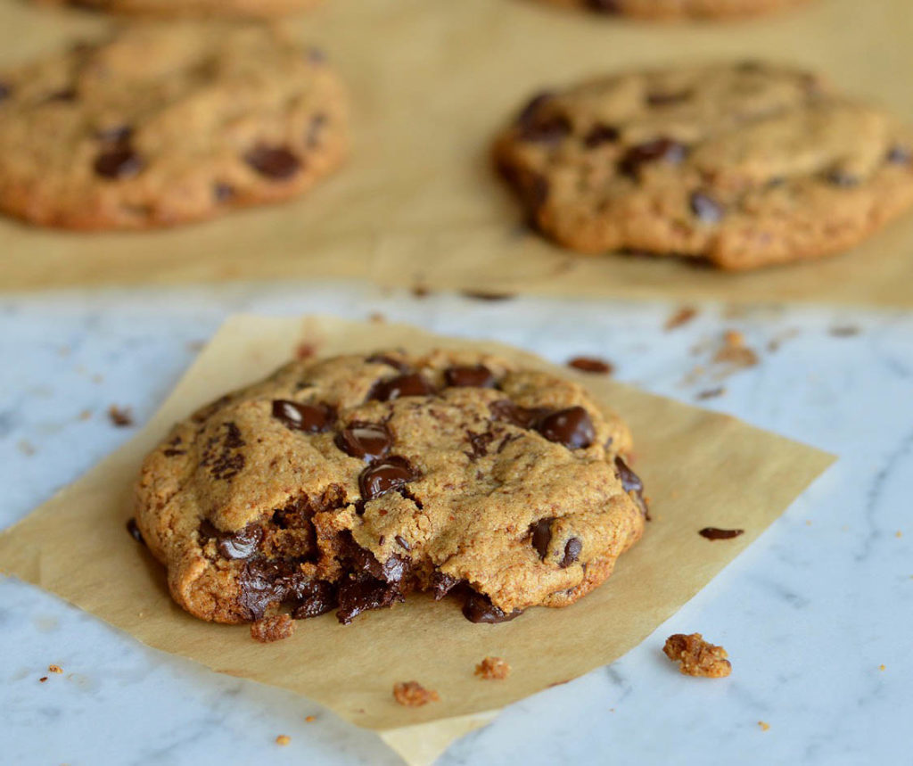Soft & Chewy Paleo Chocolate Chip Cookies - Eat Well Enjoy Life ...