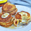 3 ingredient banana almond pancakes