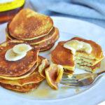 3 Ingredient Banana Almond Pancakes