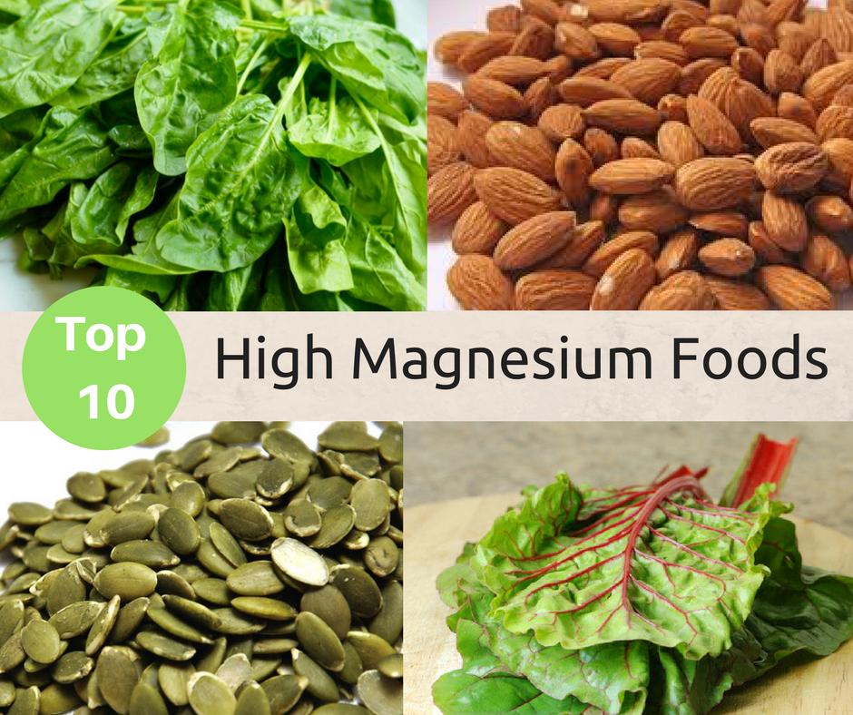 My Favorite High Magnesium Foods