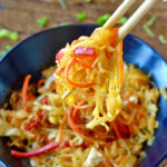 Paleo Chow Mein (Vegan Option)
