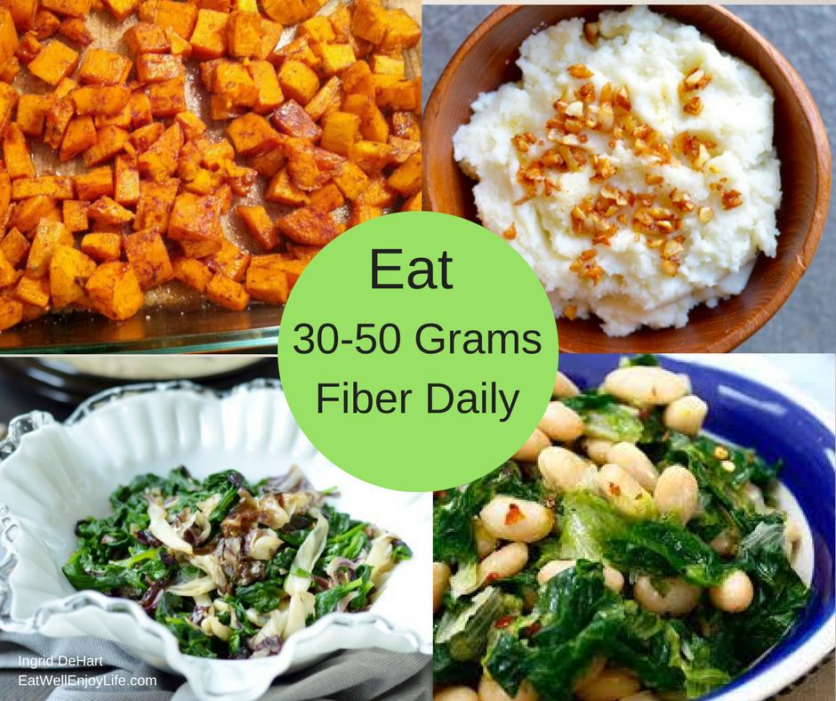 How to get 30 grams of fiber