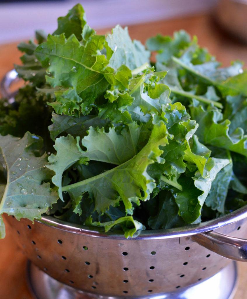 Kale & Romaine Caesar Salad