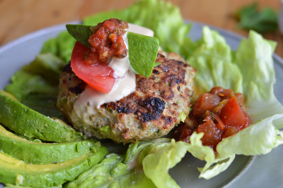 Moroccan Spiced Turkey Burgers