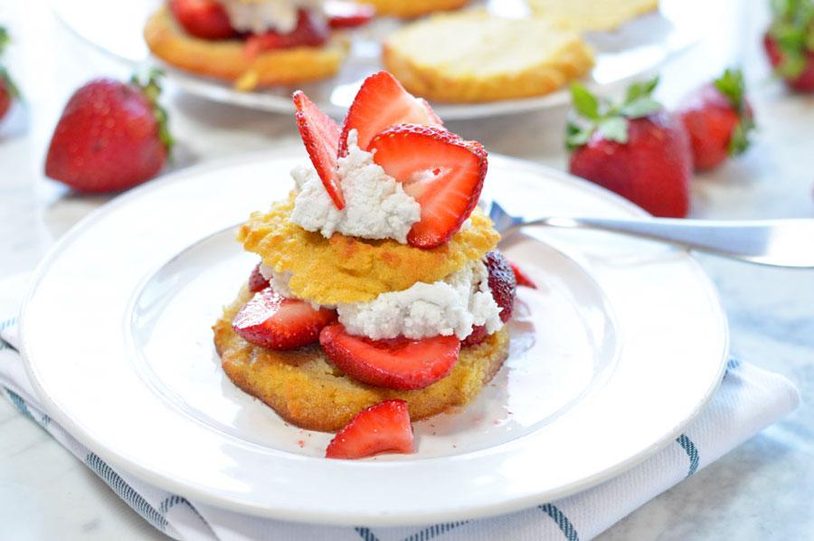 Enchanting Paleo Strawberry Shortcake
