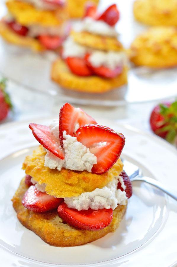 Enchanting Strawberry Shortcake