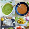 6 fresh healthy summer sauces