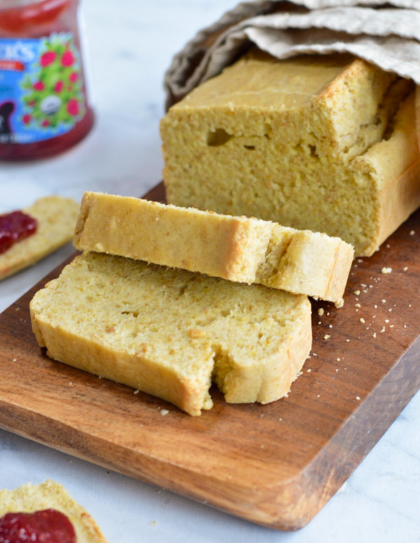 Golden Paleo Gluten Free Bread