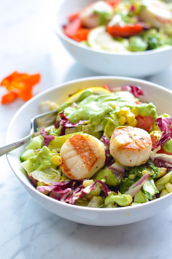 Energizing Grilled Summer Salad