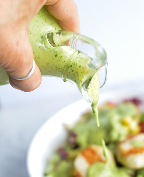Energizing Grilled Chopped Summer Salad