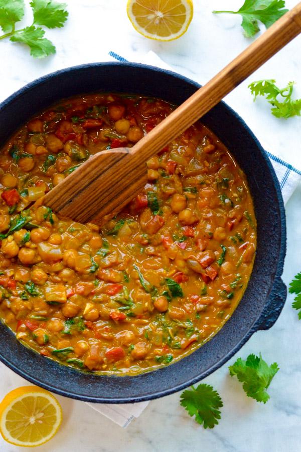 Comforting Moroccan Pumpkin Vegan Stew