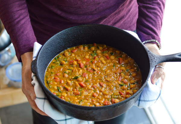 Easy Moroccan Pumpkin Vegan Stew