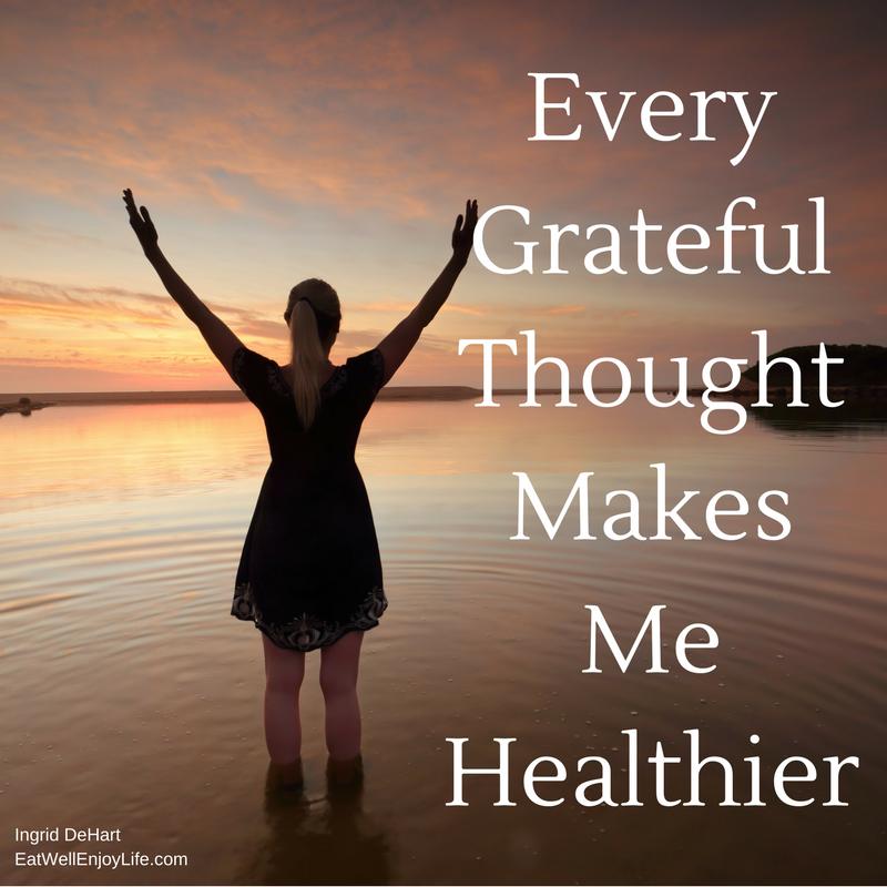 Gratitude Makes Me Healthier