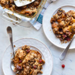 Easy Apple Gingerbread Cobbler