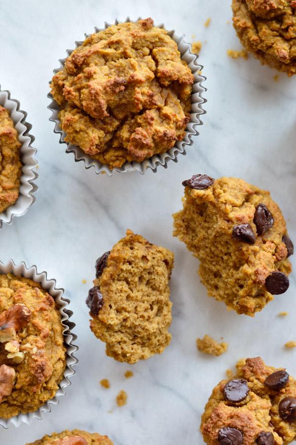 Amazing Paleo Pumpkin Muffins