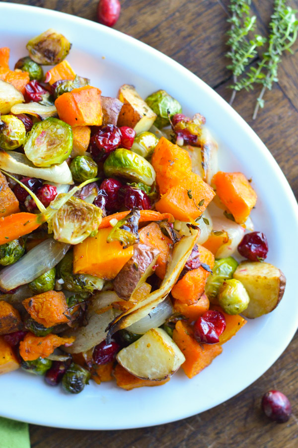 Roasted Vegetables with Herbs and Balsamic Vinegar