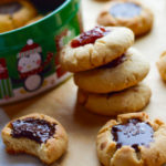 Sea Salt & Chocolate or Raspberry Thumbprint Cookies