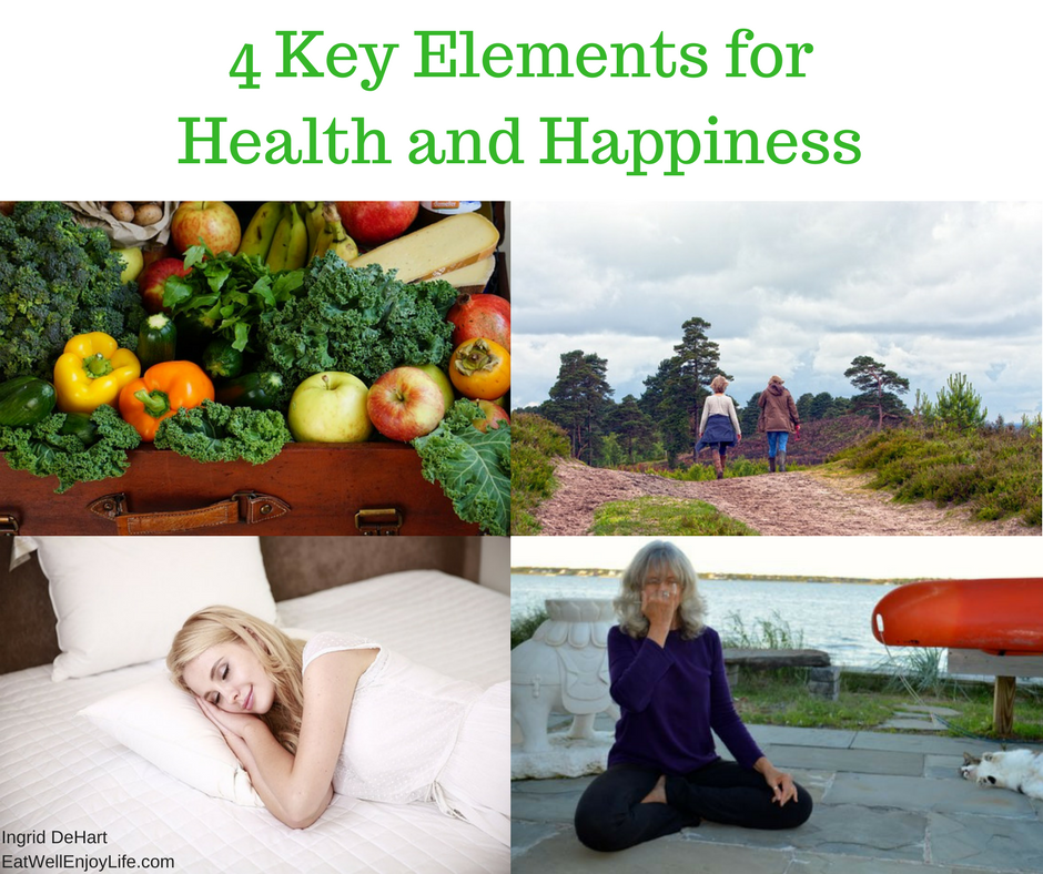 Key Elements for Health And Happiness