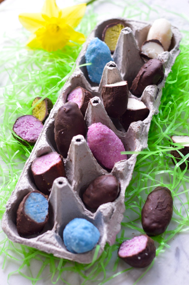 Chocolate Coconut Easter Eggs